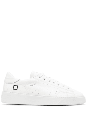 D.A.T.E. leather low-top sneakers - White