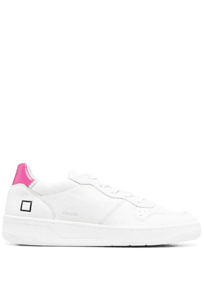 D.A.T.E. Court leather low-top sneakers - White