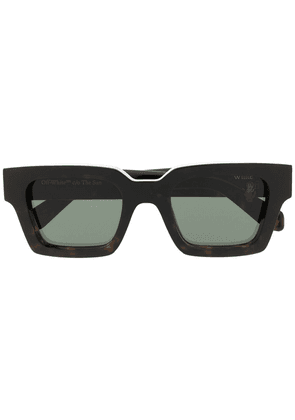 Off-White Virgil square-frame sunglasses - Brown