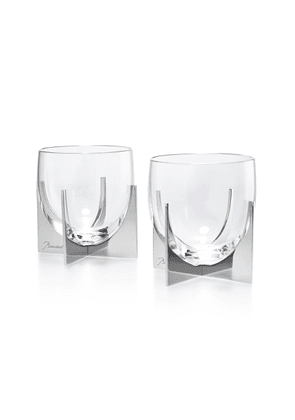 Baccarat - Heritage Paraison Set-Of-Two Glass Tumblers - Color: Silver - Material: Crystal - Moda Operandi