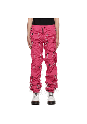 99% IS Pink and White Gobchang Lounge Pants
