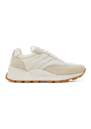 AMI Alexandre Mattiussi Off-White Spring Low-Top Sneakers