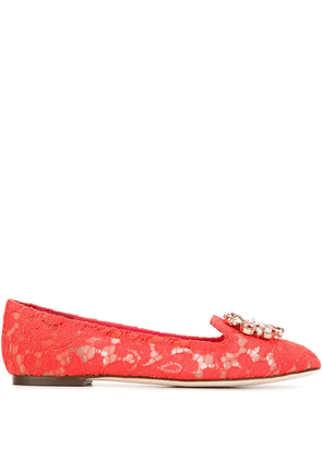Dolce & Gabbana Vally slippers - Red