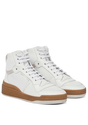 SL24 high-top leather sneakers