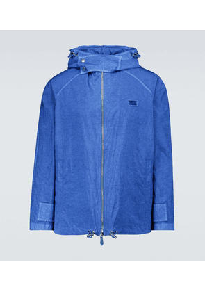 Technical nylon jacket