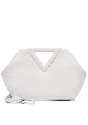 Point Small leather shoulder bag