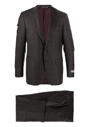 Canali two-piece wool suit - Red