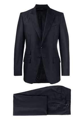 TOM FORD single-breasted tailored suit - Blue