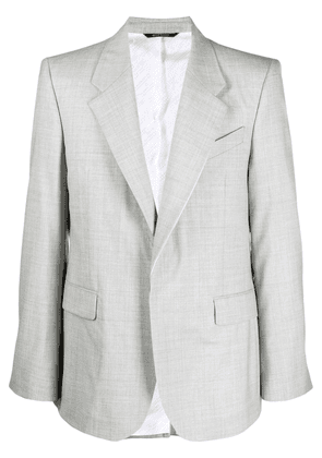 Givenchy contrasting trim jacket - Grey