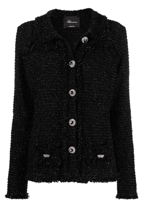 Blumarine embellished-button jacket - Black