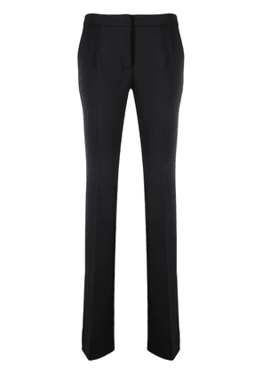 Blumarine side-slit detail trousers - Black