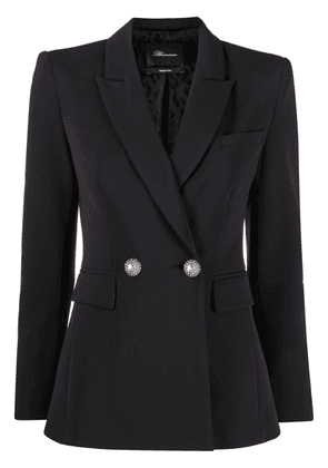 Blumarine embellished-button blazer - Black