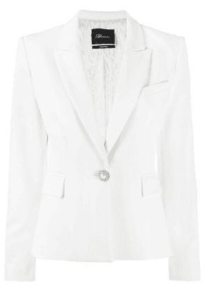Blumarine embellished-button blazer - White