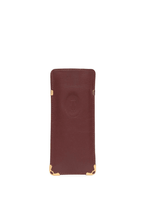 Cartier pre-owned logo-embossed pouch - Red