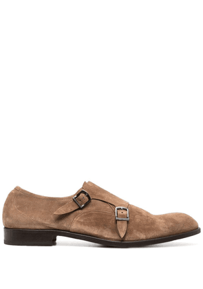 Fratelli Rossetti double monk strap shoes - Brown