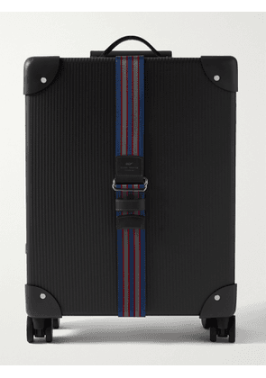 GLOBE-TROTTER - No Time to Die 18 Leather-Trimmed Carbon Fibre Carry-On Suitcase' - Men - Black