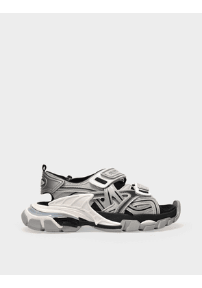 Balenciaga Sandal Sandal Sandals in Grey Synthetic Leather