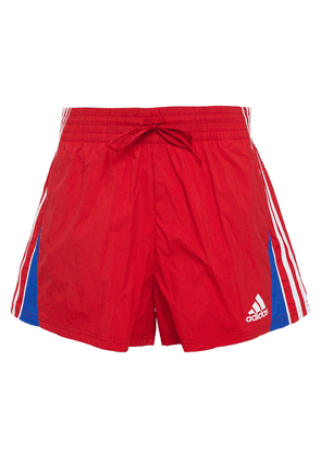 Adidas Printed Shell Shorts Woman Red Size S