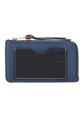 Coin leather cardholder