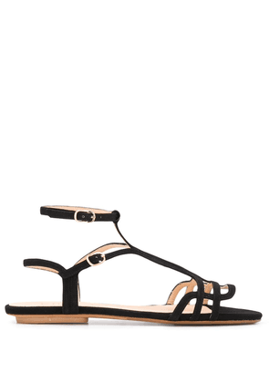Chie Mihara double buckled sandals - Black