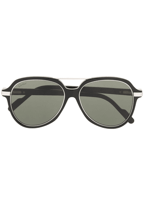 Cartier Eyewear C Décor sunglasses - Black