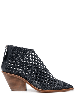 AGL interwoven ankle boots - Blue