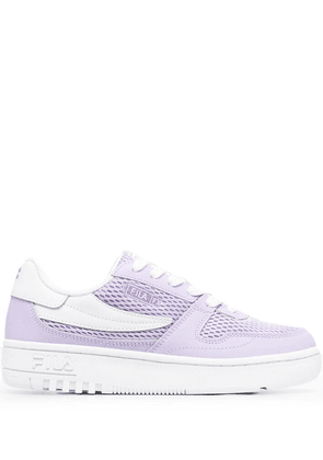 Fila FXVentuno leather low-top sneakers - Purple