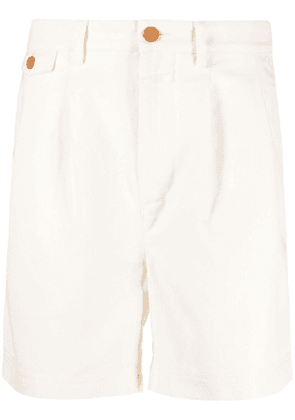 Closed pleated-detail chino shorts - Neutrals