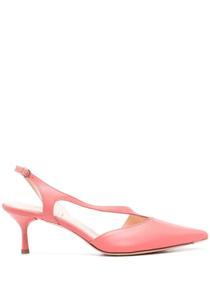 AGL pointed-toe low-heel pumps - Pink