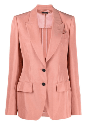 TOM FORD single-breasted tailored blazer - Pink