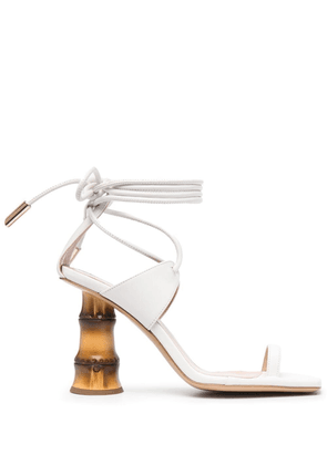Gia Couture Aquilone sandals - White