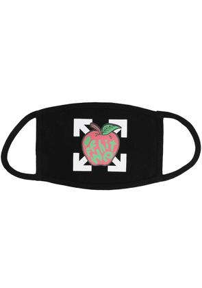 Off-White Apple Arrow face mask - Black