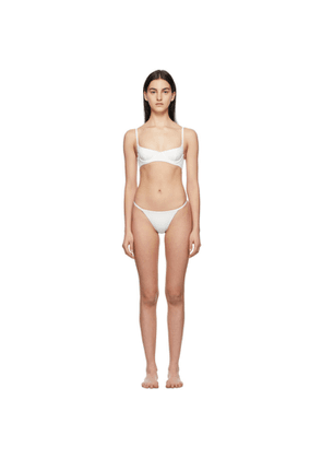 SIR. Off-White Louis Hybrid Balconette Bikini