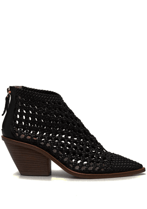 AGL woven ankle boots - Brown