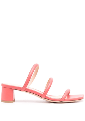 AGL Silvia crossover strap sandals - Pink