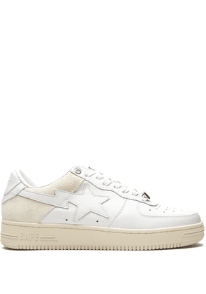 A BATHING APE® BAPE STA low-top sneakers - White