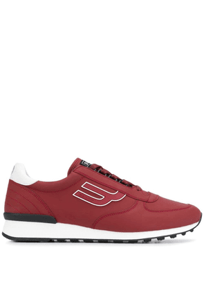 Bally side logo sneakers - Red