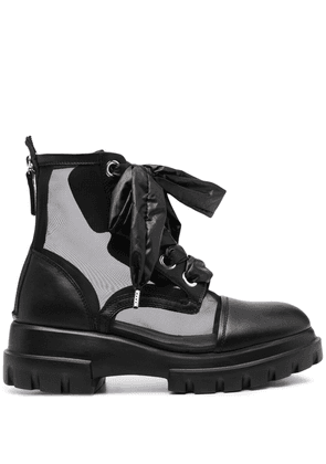 AGL lace-up ankle boots - Black