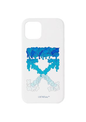 Off-White White and Blue Marker iPhone 12 and iPhone 12 Pro Case