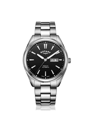 Rotary Watches Rotary Henley Stainless Steel Automatic Watch