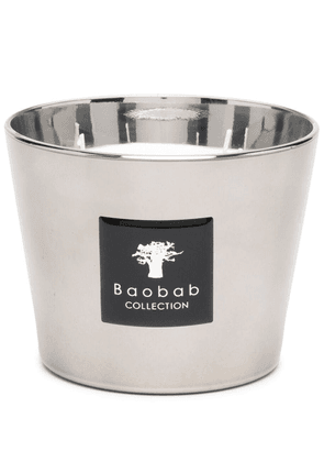 Baobab Collection Platinum Max 10 scented candle - Silver