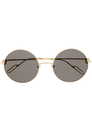 Cartier Eyewear gold rounded sunglasses