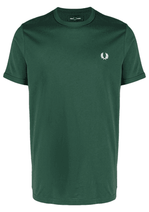 FRED PERRY logo-embroidered T-shirt - Green