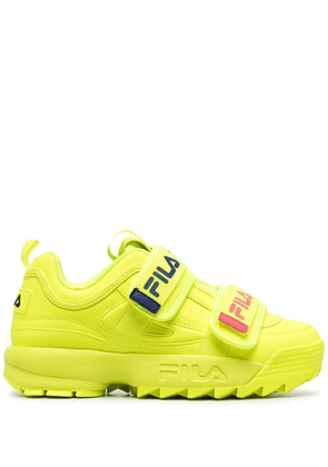 Fila Disruptor touch-strap sneakers - Yellow