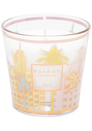 Baobab Collection Miami landscape-print candle - Pink