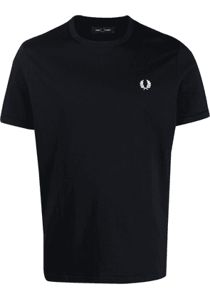 FRED PERRY logo-embroidered T-shirt - Blue