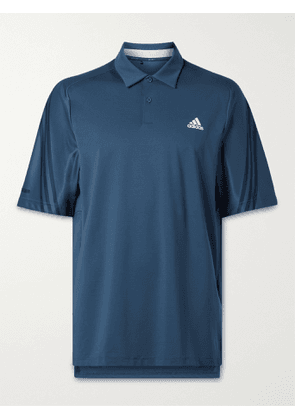 ADIDAS GOLF - Stripe-Trimmed HEAT.RDY Golf Polo Shirt - Men - Blue - L