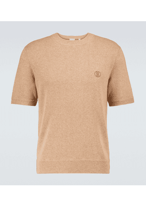 Linden knitted cashmere T-shirt