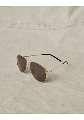 Belstaff ARCHER AVIATOR SUNGLASSES gold