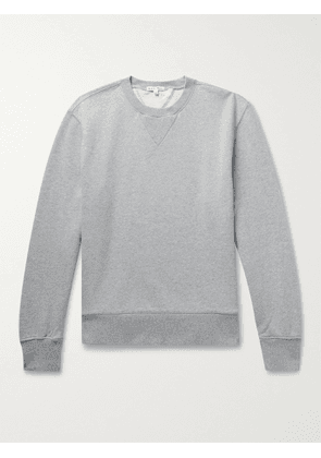 ALEX MILL - Mélange Loopback Cotton-Jersey Sweatshirt - Men - Gray - XS